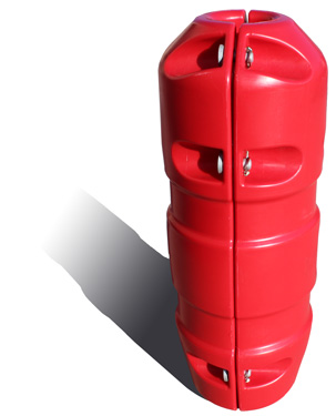 Dragline terminall Cable Plug Protector - Red