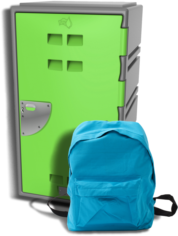 C series Locker and back pack