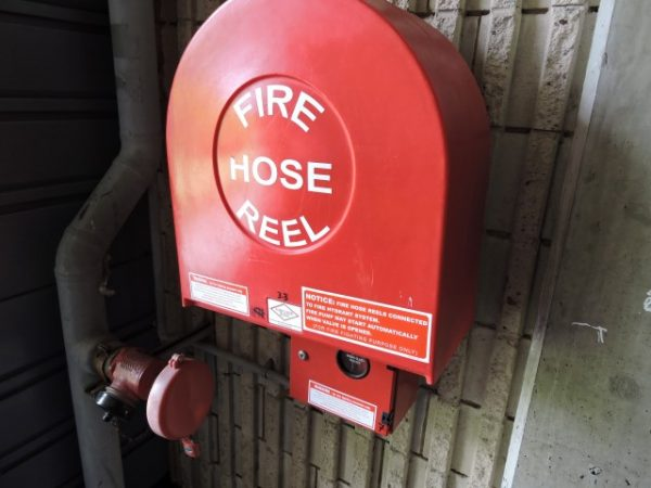 Fire Hose reel poly cover